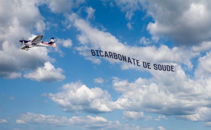 BICARBONATE DE SOUDE-AVION