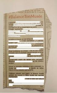 FAKE NEWS-BALANCE TON MUSEE-À COMPLÉTER