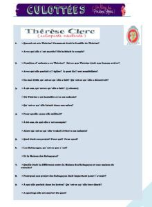thérèse clerc-questionnaire
