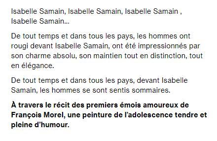 Isabelle Samain