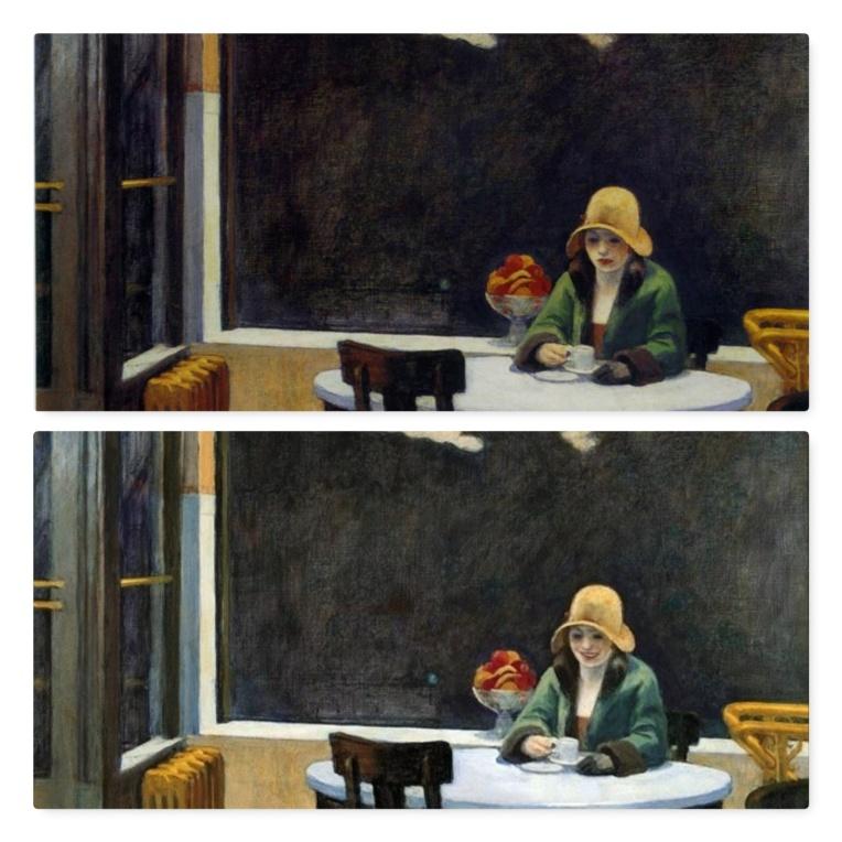 FaceApp-sourire-F-Automat-Edward Hopper-1927