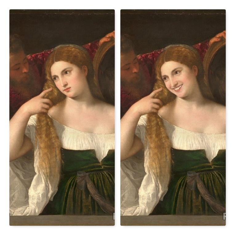 FaceApp-sourire-F-La femme au miroir-Titien