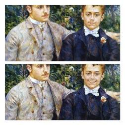 FaceApp-sourire-H-Charles et Georges Durand Ruel-Pierre Auguste Renoir