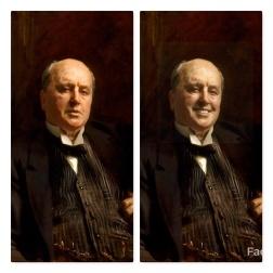 FaceApp-sourire-H-Henry James-John Singer Sargent