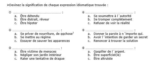 expressions idiomatiques-2