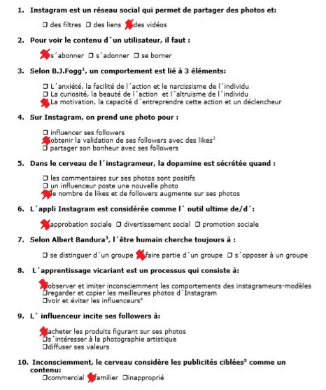 DOPAMINE-INSTA-REPONSES