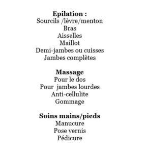 Pile poil-soins