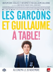 2014-LES GARÇONS ET GUILLAUME À TABLE