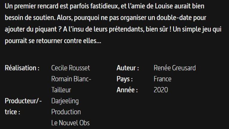 L AMOUR A SES RÉSEAUX-PRESENTATION