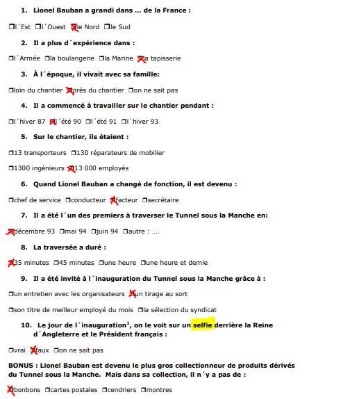 TUNNEL SOUS LA MANCHE-QCM-REPONSES